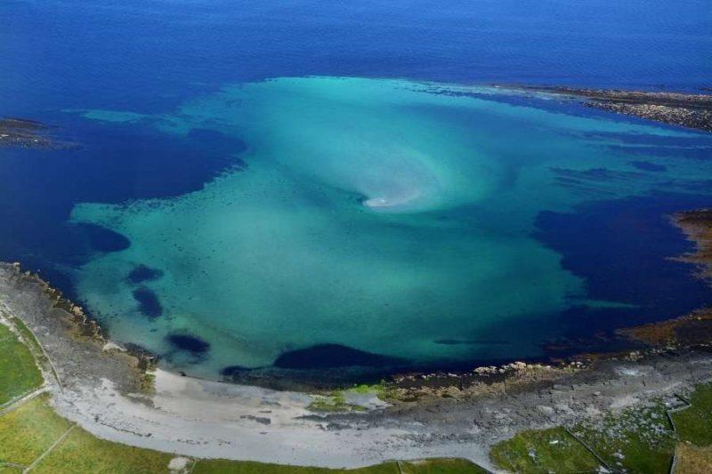 Aran Islands Natuur in Ierland met Galtic