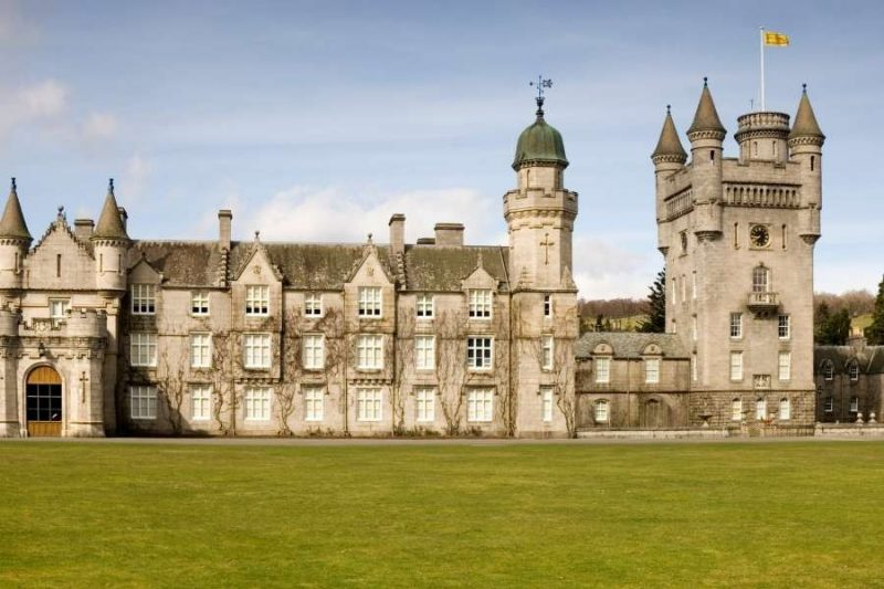 Balmoral Castle in Schotland Galtic