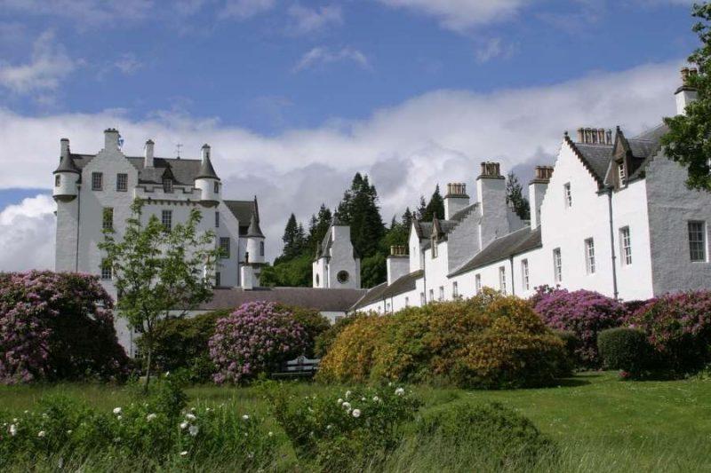 Blair castle in in Schotland Galtic
