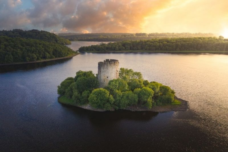 Cloughoughter Castle in Ierland Galtic