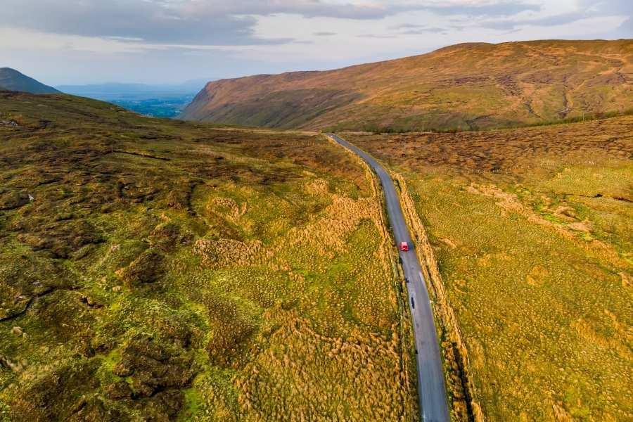 Connemara Regio in Ierland met Galtic