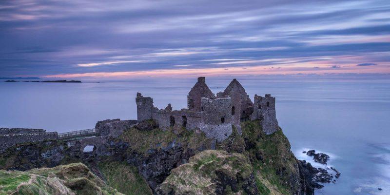 Dunluce Kasteel in Ierland Reizen met Galtic