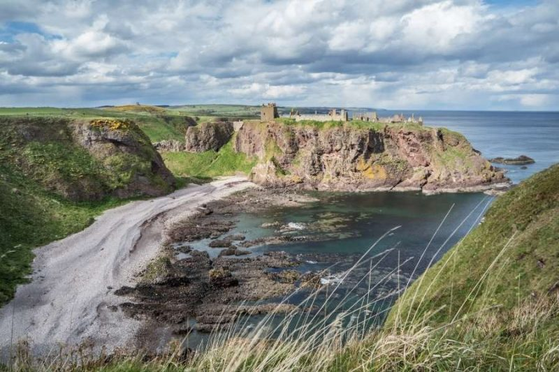 Dunnottar Castle in Schotland Galtic