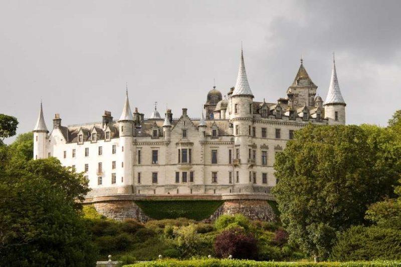 Dunrobin Castle in Schotland Galtic