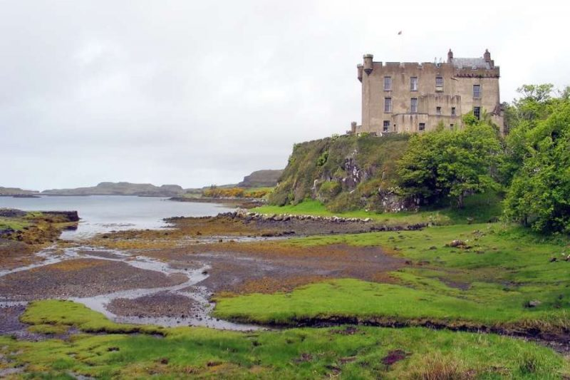 Dunvegan Castle in Schotland Galtic