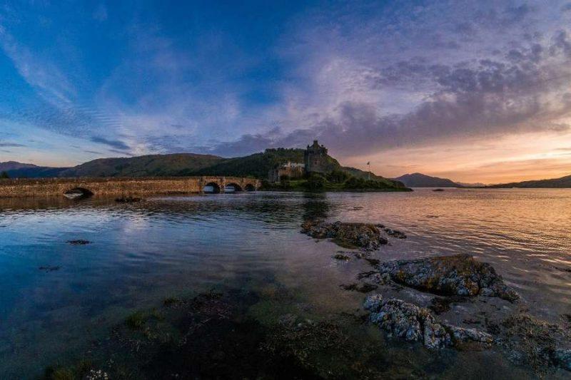 Eilean Donan Castle in Schotland Galtic