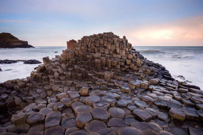 Giants Causeway Natuur in Ierland met Galtic