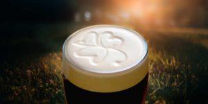 Guinness bier in Ierland met Galtic