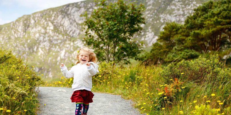 Ierland reizen met kinderen met Galtic