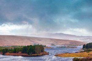 Ierland weer in County Donegal met Galtic