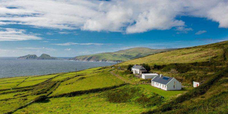 Kuststreek van Ierland huizen Reizen met Galtic