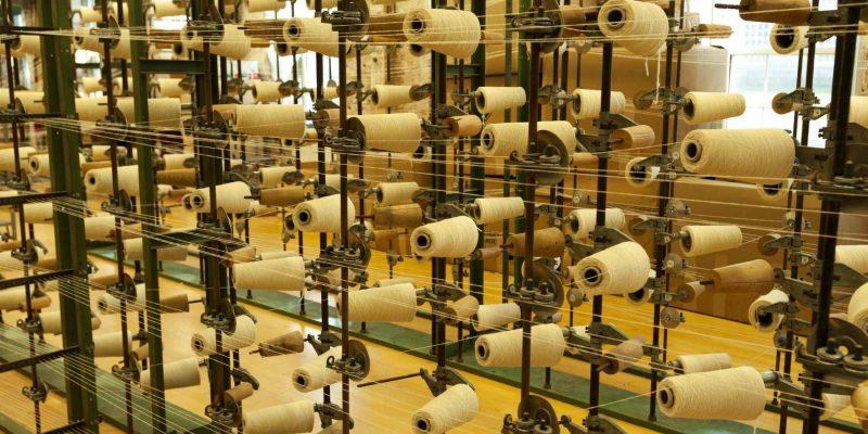 McKernan Woolen Mills in Ierland met Galtic