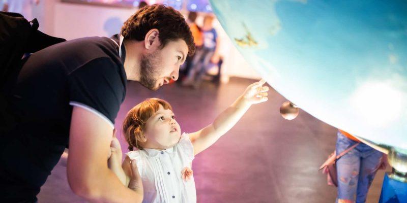Met kinderen op bezoek in een museum met Galtic