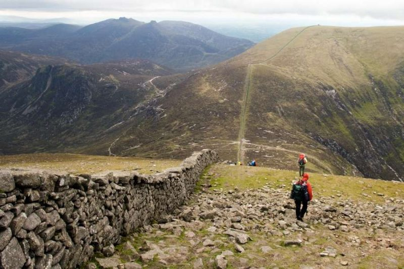 Mourne Mountains Natuur in Ierland met Galtic