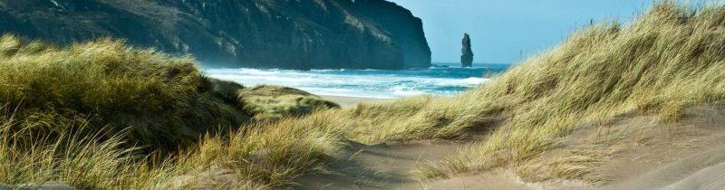 Parelwitte stranden Schotland Sandwood Bay Galtic