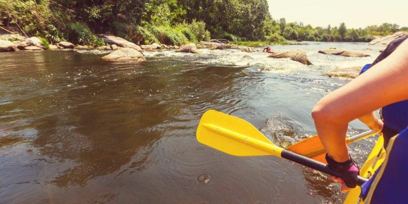 Rafting in Schotland met Galtic