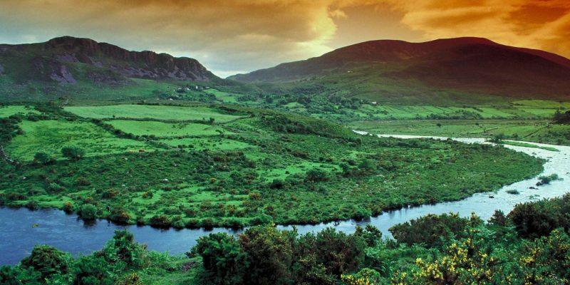 Rolling Hills in ierland Reizen met Galtic