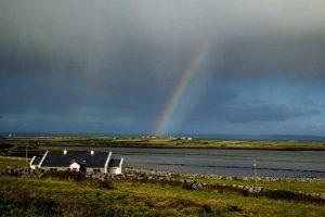 Rustgevend landschap in Ierland bij reizen met Galtic