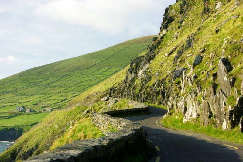 Slea Head Drive in Ierland met Galtic