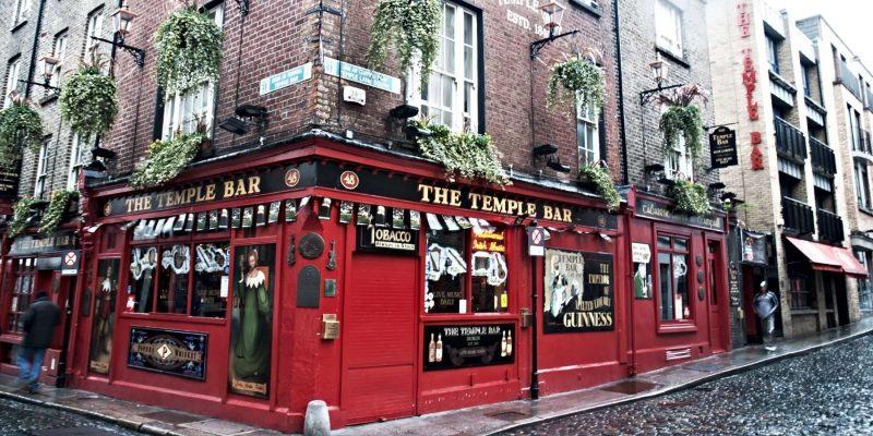 Temple Bar in Ierland Reizen met Galtic