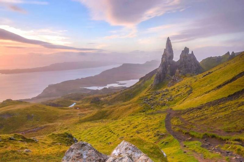 Old man of Storr Schotland - reizen met Galtic