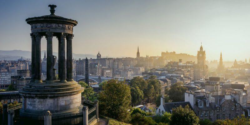 Calton Hill Edinburgh nORDIC