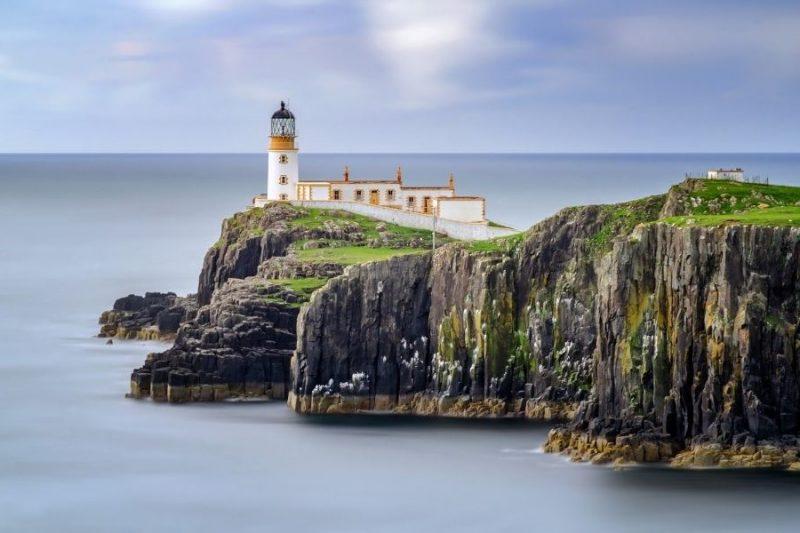 Neist Point Lighthouse. Schotland