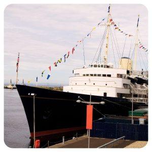 Royal Yacht Brittania Leith