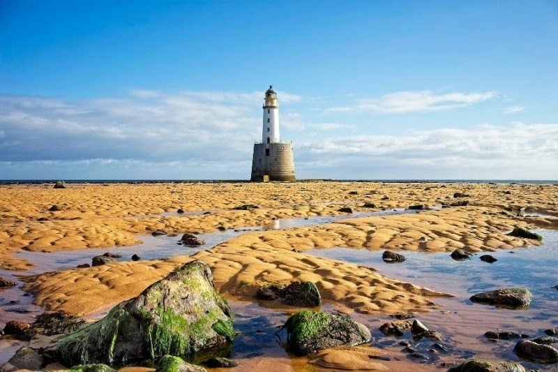 Schotland Rattray Head Lighthouse