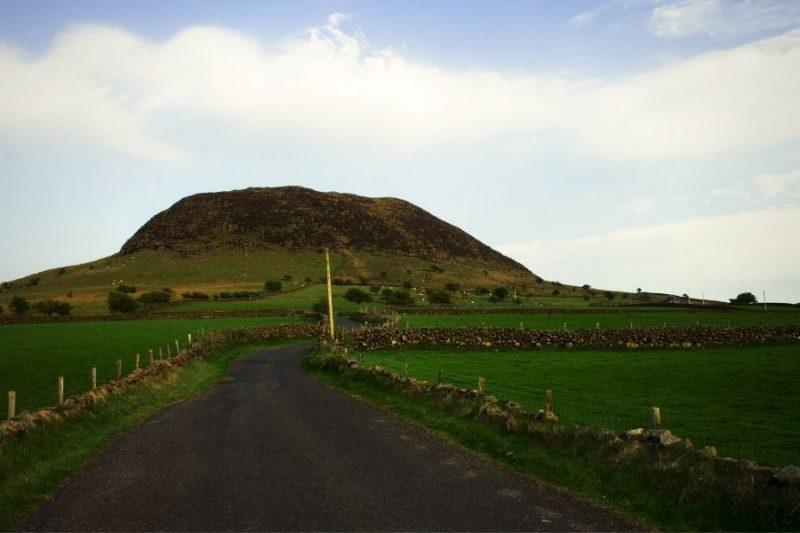 Slemish Mountain Ierland